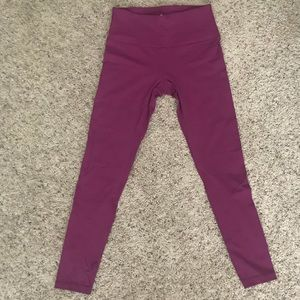 Pants - 90 DEGREE WORKOUT LEGGINGS (Purple)